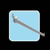 Shelf bracket with Power Adaptor