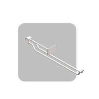 Double wire hook with Price holder
