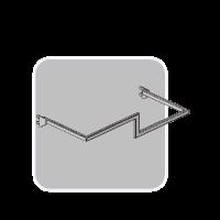 Hanger Z shaped