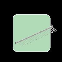 Crossbar turning display